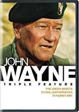 John Wayne Triple Feature: Green Berets, The / Flying Leathernecks / In Harm's Way 3FE
