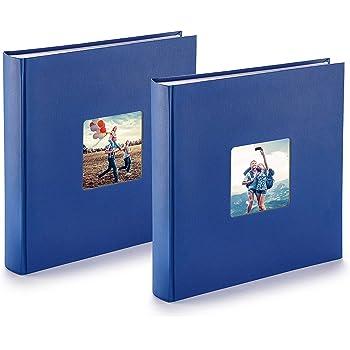 30 x 30 Pos.56 25 Blatt Sammelalbum Fotoalbum Coverlim nachtblau Album