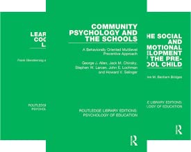 Routledge Library Editions: Psychology of Education (49 Book Series)