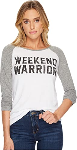 The Original Retro Brand - Weekend Warrior Long Sleeve Raglan