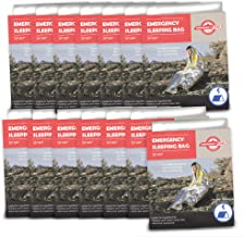 Emergency Zone Emergency Sleeping Bag, Survival Bag, 1, 5, 12, and 144 Packs Available