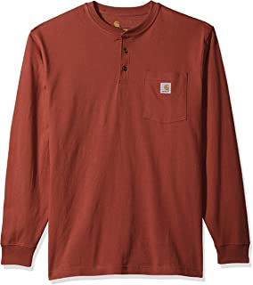 Carhartt Men's Workwear Pocket Long Sleeve Henley