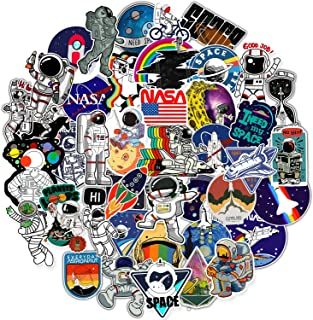 NASA Stickers for Laptop[100PCS], Space Exporer Galaxy Vinyl Decals for Water Bottle Hydro Flask MacBook Car Bike Bumper S...