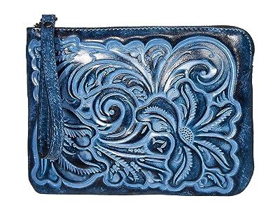 Patricia Nash Cassini Wristlet (Safflower Blue) Wristlet Handbags