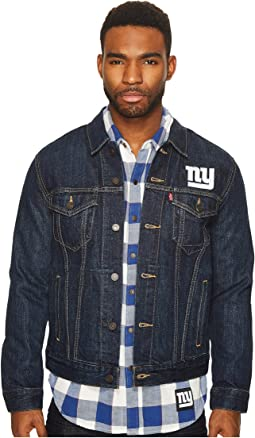 NY Giants Sports Denim Trucker