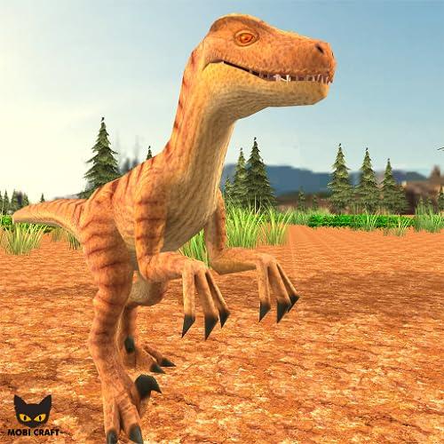 Raptor Family Dinosaur Simulator 3D