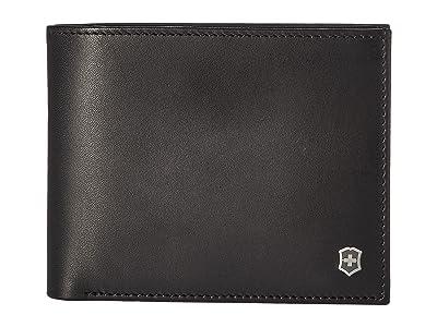 Victorinox Altius Edge Fermat Bifold Wallet w/ Passcase RFID (Black) Bi-fold Wallet
