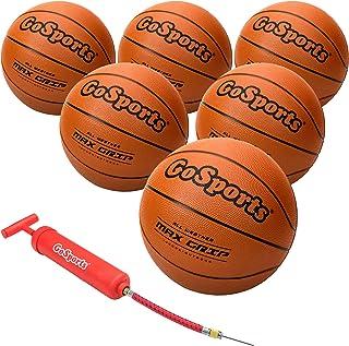 لاستیک بسکتبال داخل سالن / لاستیک بیرونی شش بسته با پمپ و کیسه حمل