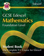 New Grade 9-1 GCSE Maths Edexcel Student Book - Foundation (with Online Edition) (CGP GCSE Maths 9-1 Revision)