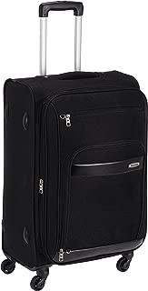 Aristocrat Polyester 66 cms Black Soft Sided Suitcase (STVEYWH66BLK)