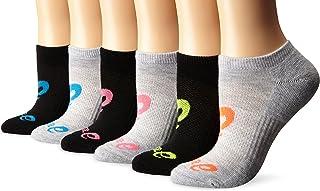 Women's Invasion No Show Running Socks, Pack of 6