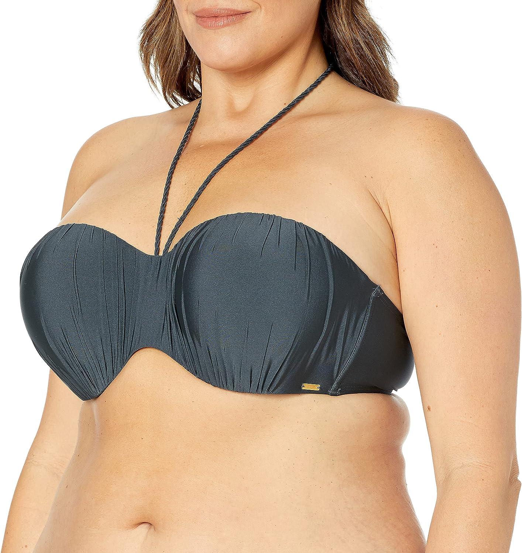Panache Swim Women's Marina Molded Bandeau Strapless Bikini Top
