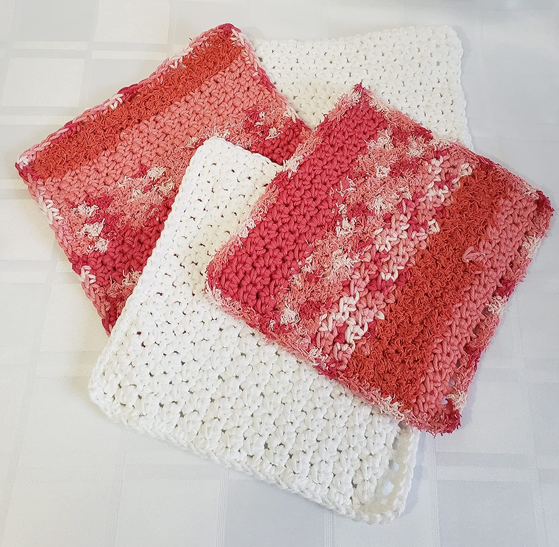 Kitchen Linen Dish Cleaning 100% quality warranty Clo Cloths Handmade Sale price Crochet