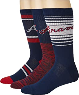 Stance Braves Team 3-Pack