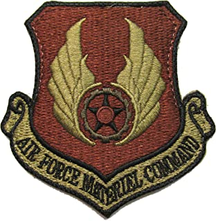 U.S. Air Force Materiel Command OCP Patch - Spice Brown