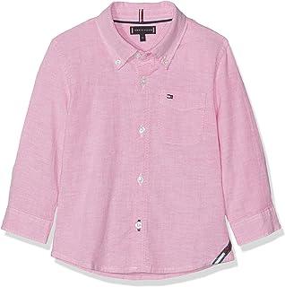 0c5066fac5d05 Tommy Hilfiger Essential Solid Oxford Shirt L/S Chemise Bébé garçon