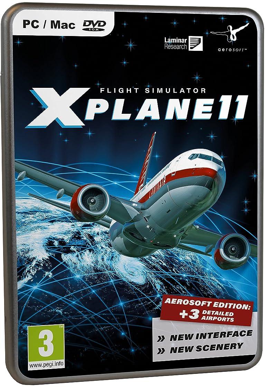 聴覚障害者キャンプルビーXPlane 11 Aerosoft Edition(輸入版)