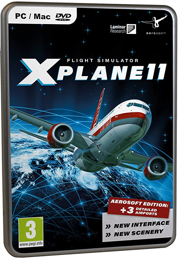 義務フロンティア透過性XPlane 11 Aerosoft Edition(輸入版)