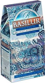 Basilur Ceylon Black Tea with white and blue cornflower Oriental Collection Frosty Afternoon, 100 gr