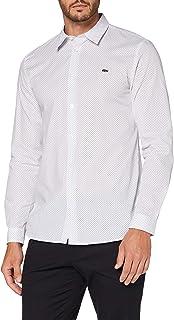 Lacoste Ch6681 Camicia, Bianco (Bianco/Panorama), 39 Uomo