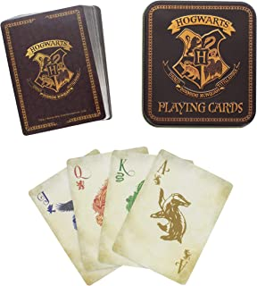 Harry Potter Playing Cards with Hogwarts House Symbols