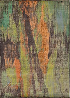 Modern Abstract Contemporary Area Rugs Multi 8' x 11' 3 Mayfair Rug