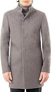 mens Slim Fit Essential Overcoat