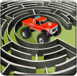 Monster Truck Maze path Finder: 3D Adventure Game