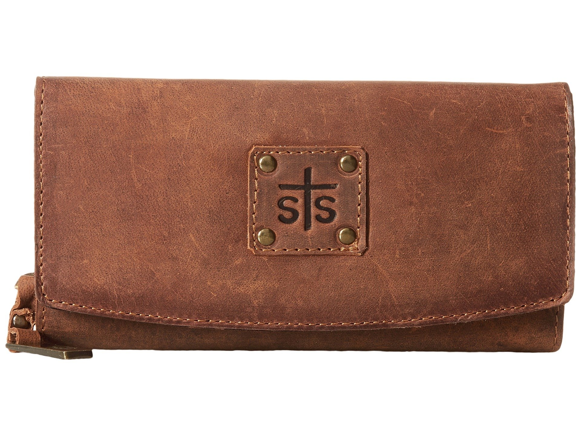 Sts Brown Ranchwear The Wallet Tri fold Baroness rrHxP