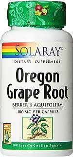 Solaray Oregon Grape Root Capsules, 400 mg | 100 Count