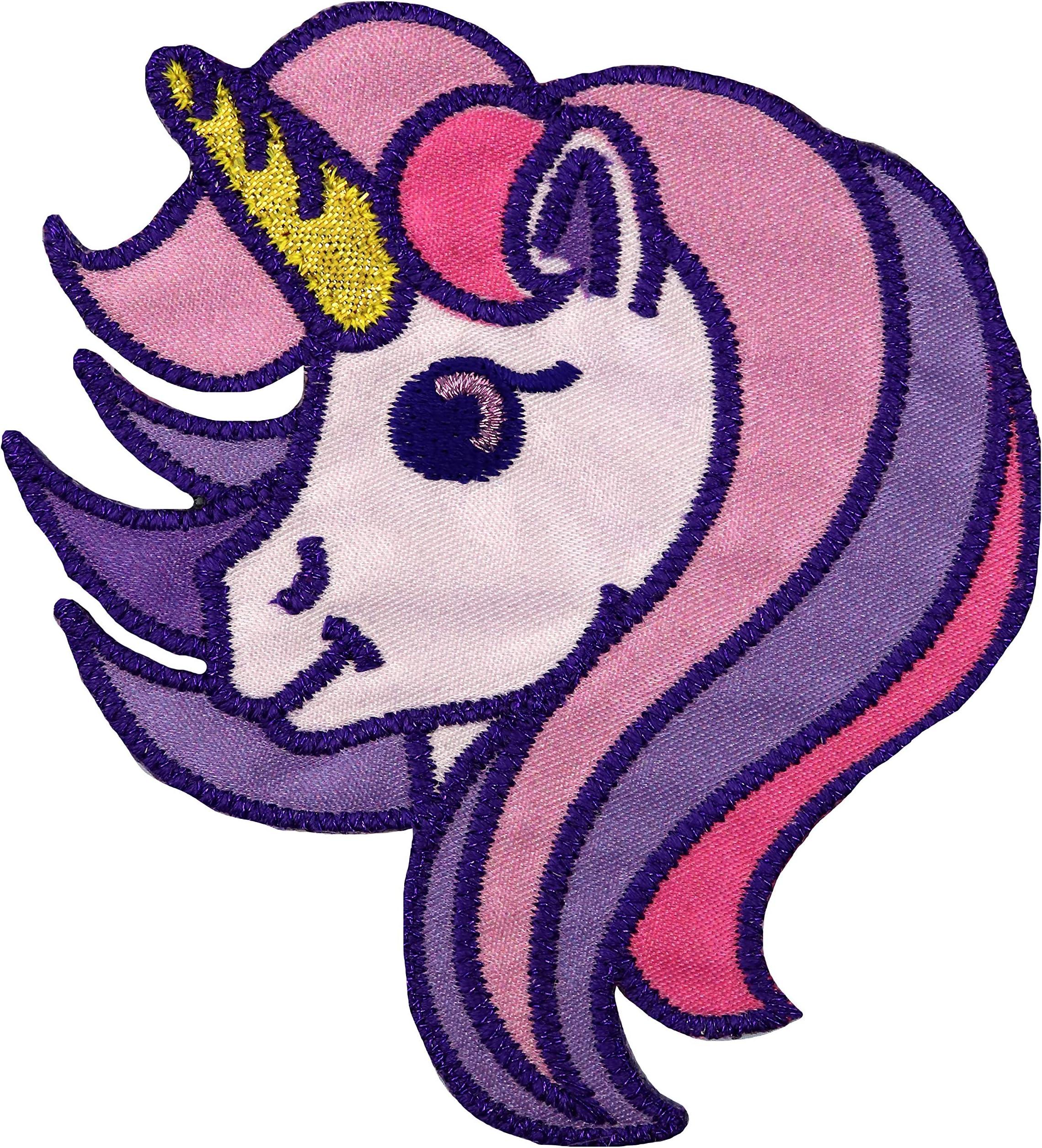 Unicorn Applique Unicorn Iron On Patch Childrens Patch Unicorn Patch Unicorns Girl Patch Children Unicorn Iron On Patch