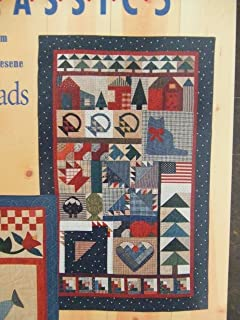 Country Threads Sampler and Spring Quilts (2 for 1, P104)
