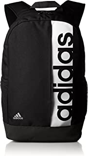 adidas 阿迪达斯 TRAINING 中性 LIN PER BP双肩背包 S99967 黑/黑/白 NS