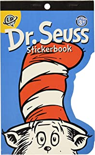 Eureka Back to School Dr. Seuss Cat in Hat Sticker Book for Teachers and Kids, 100+ pcs