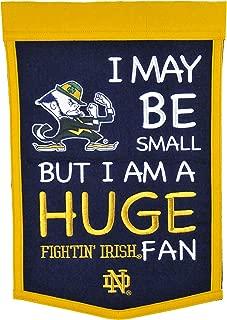 NCAA Notre Dame Fighting Irish Lil Fan Banner