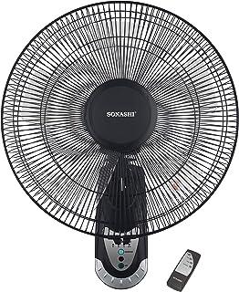 Sonashi 16 Wall Fan with Remote Control - SF-8007WR