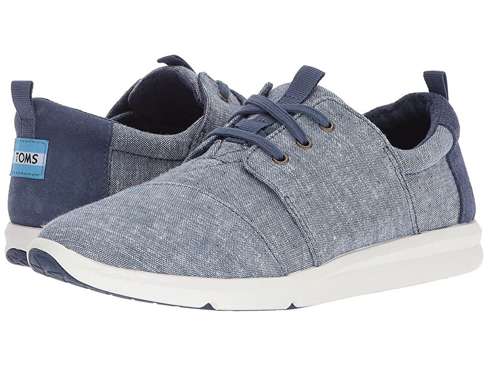 TOMS Del Rey (Blue Slub Chambray) Women