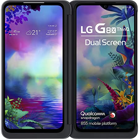 LG G8X | Dual Screen (Aurora Black, Dual OLED Screens)