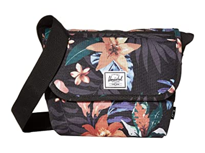 Herschel Supply Co. Grade Mini (Summer Floral Black) Messenger Bags