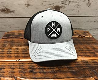 Pacific Northwest, PNW, Hat, Mountains, Mt. Hood, Fishing, Fly fishing, camping, happy camper, lake life, camper, camping shirt, the mountains are calling, camping gear, camping, campfire, beer
