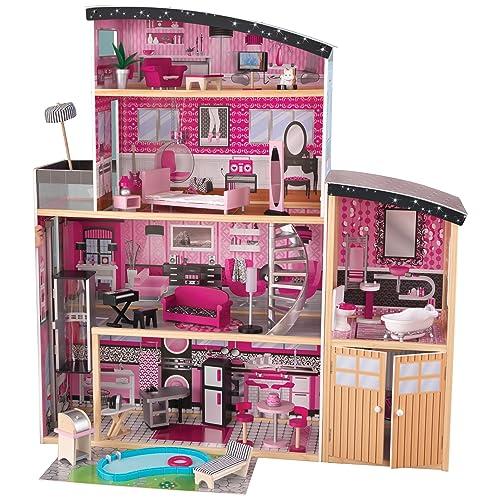 Wooden Barbie Doll House Amazon Com