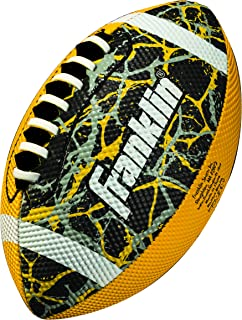 Franklin Sports Mini Football – Tacky Grip Cover – Easy Throw Spiral Lace System – Little Kids Indoor/Outdoor Football