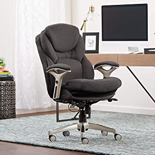 Serta Ergonomic Executive Office Chair Motion Technology Adjustable Mid Back Design with..