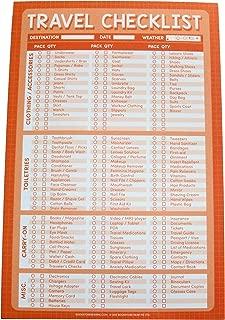 Travel Checklist Pad - Travel Check List