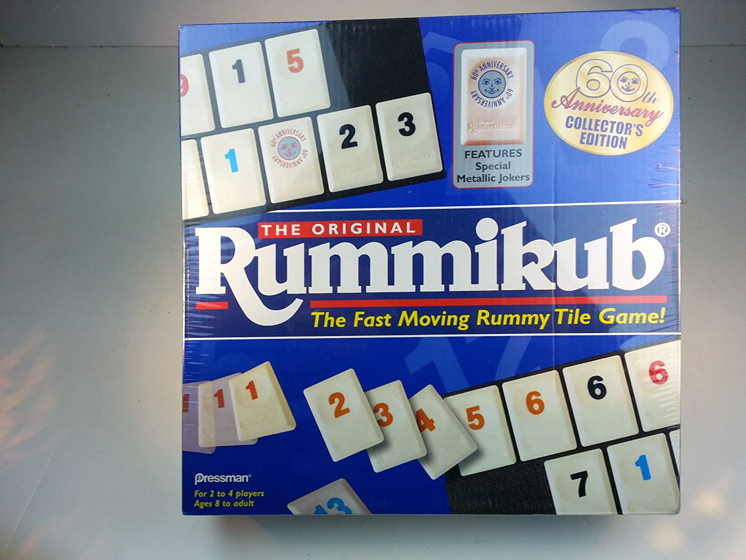 The Original Rummikub 60th Anniversary Collector's Edition by Pressman Toy