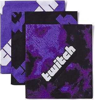 Twitch Bandana Pack Purple One Size Fits All