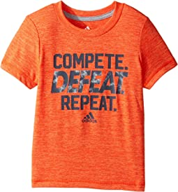 adidas Kids - Compete Tee (Toddler/Little Kids)