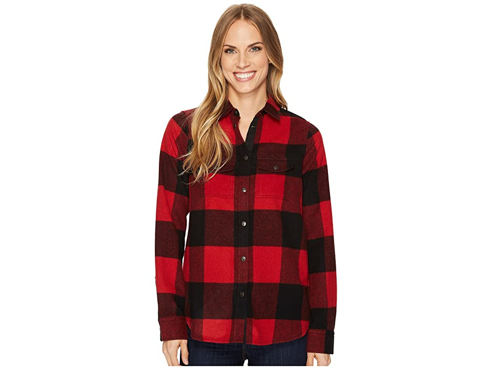 Fjallraven Canada Shirt (Red) Women
