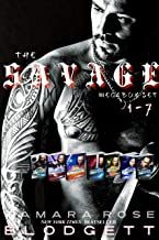 The Savage Series Mega Boxed Set: (Science Fiction Vampire / Shifter Romance Thriller Books 1-7)