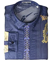 Versace Collection - Dragon Print Silk Button Down